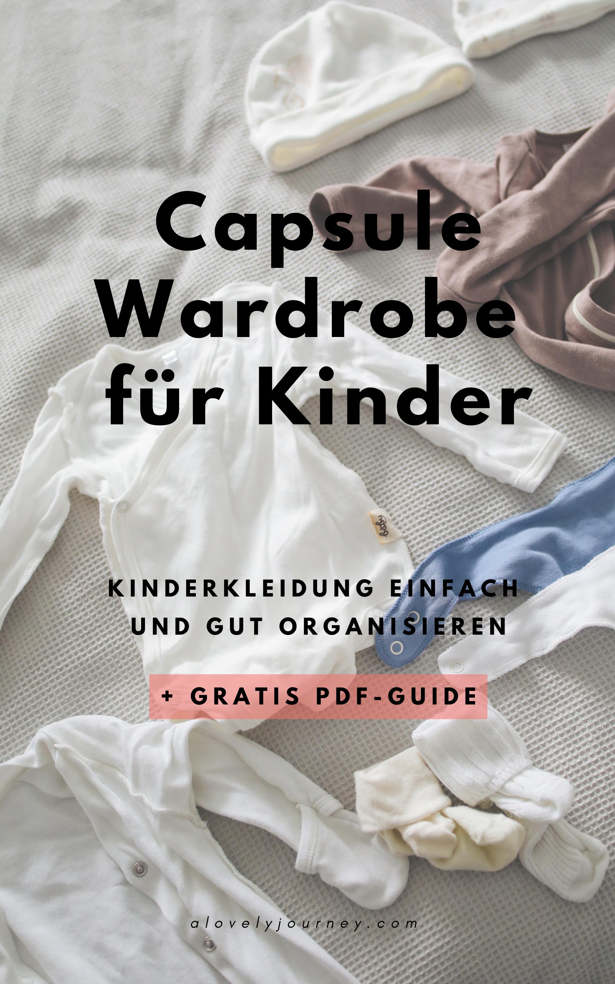 Capsule Wardrobe für Kinder