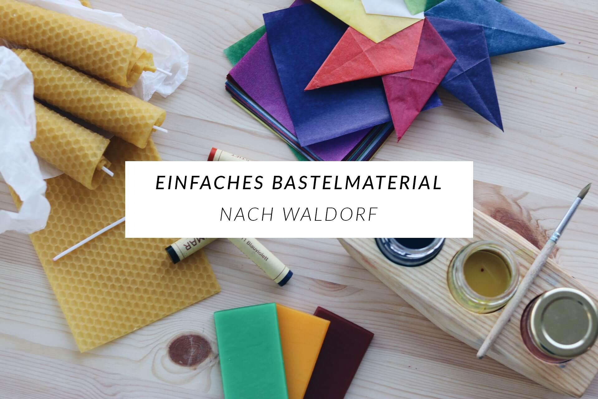 Simplicity: Nachhaltiges Bastelmaterial nach Waldorf für Kinder — a ...