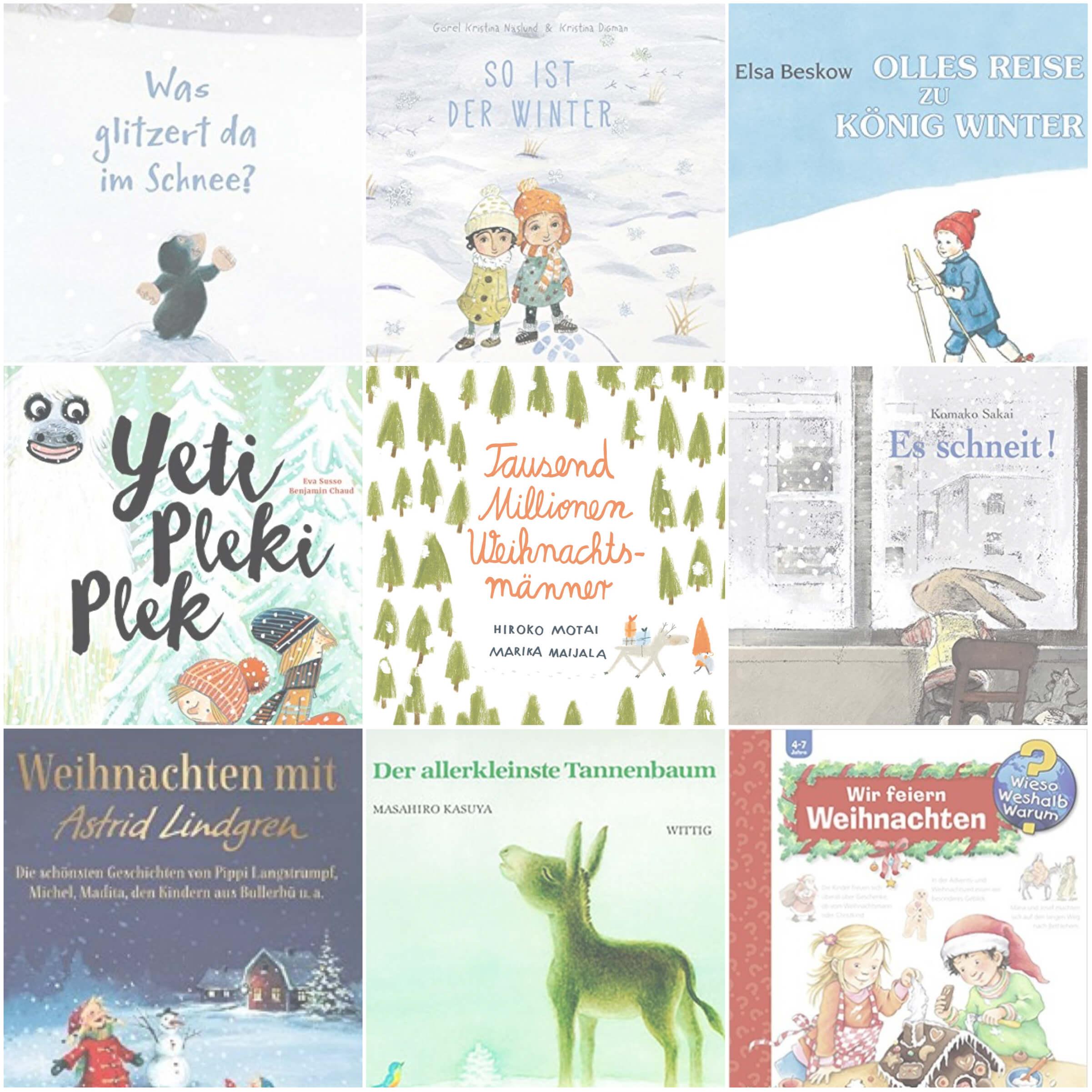 Kinderbücher für die Adventzeit