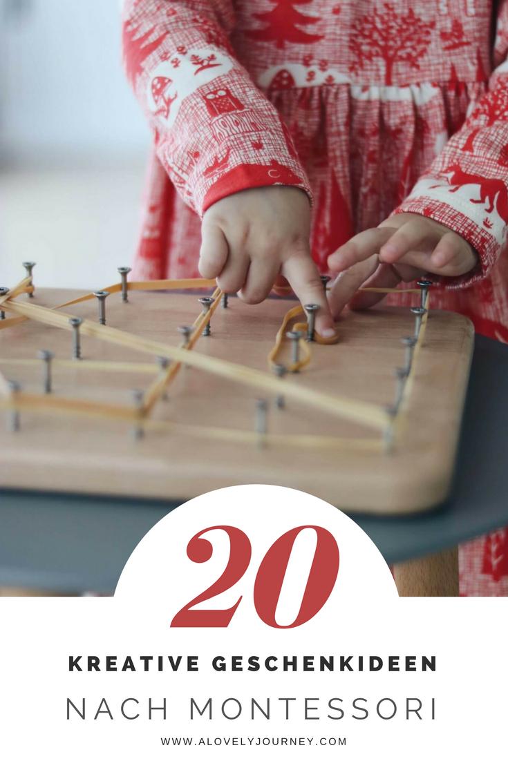 Weihnachten: 20 Geschenkideen für Kinder nach Montessori