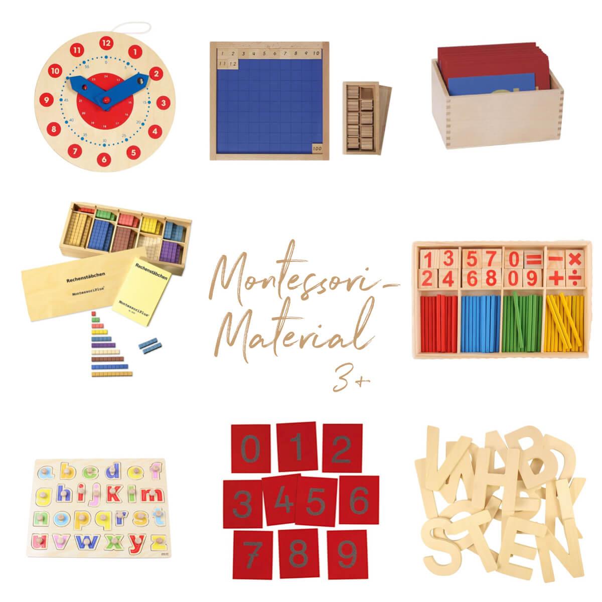 Geschenkideen Montessori ab 3 Jahren
