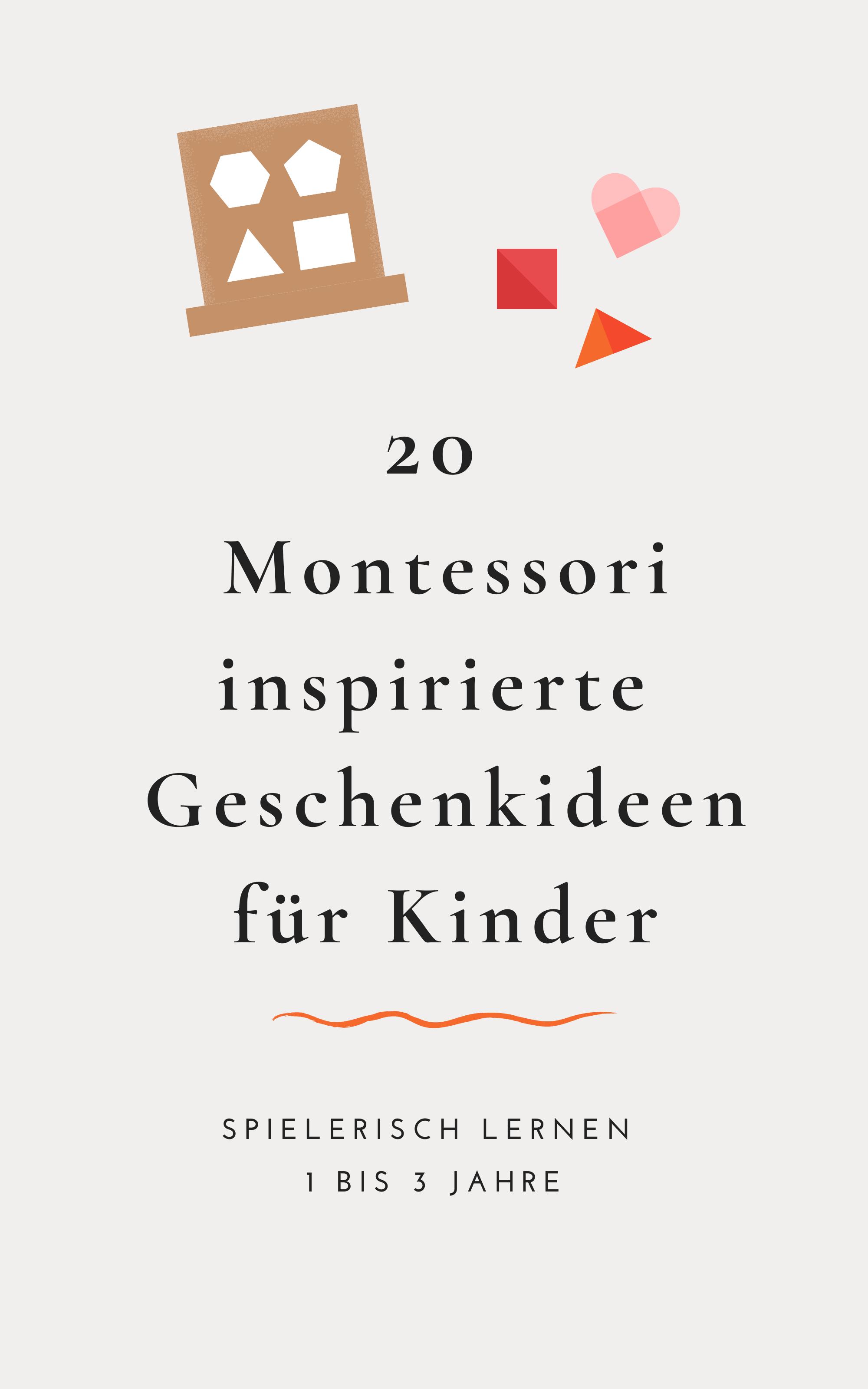 Geschenkideen Nach Maria Montessori 20 Sinnvolle Geschenke Fur Kinder