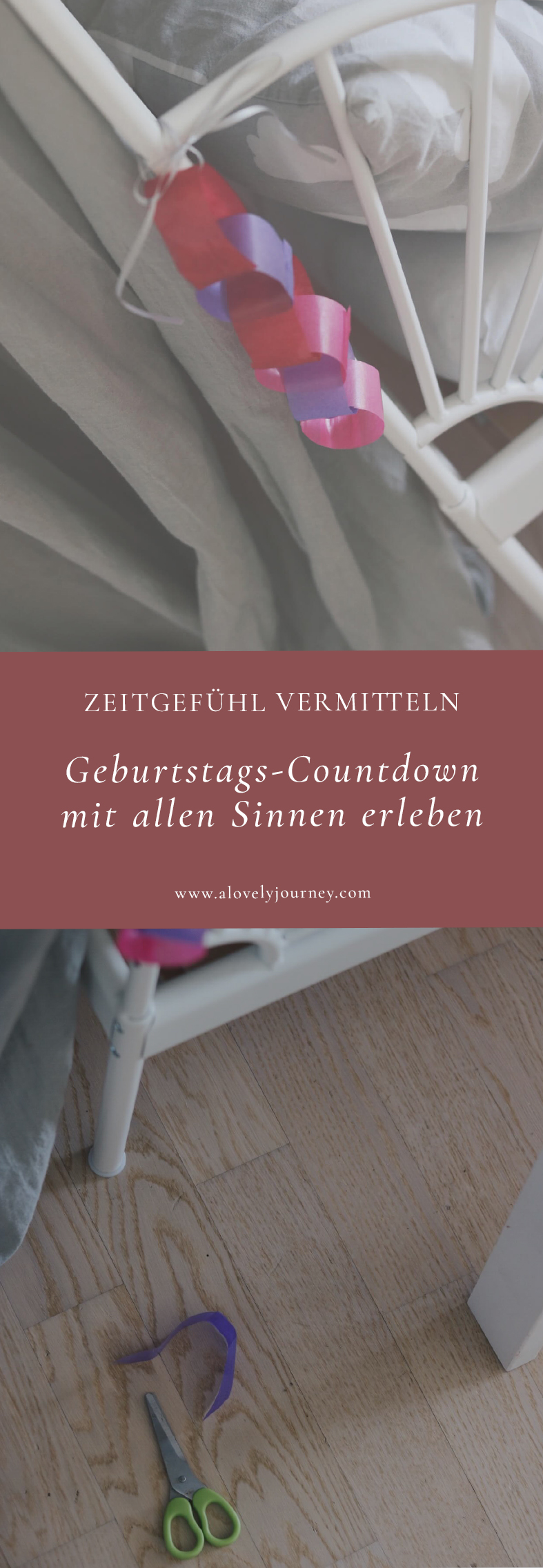 Zeitgefühl vermitteln - Countdown für Kinder
