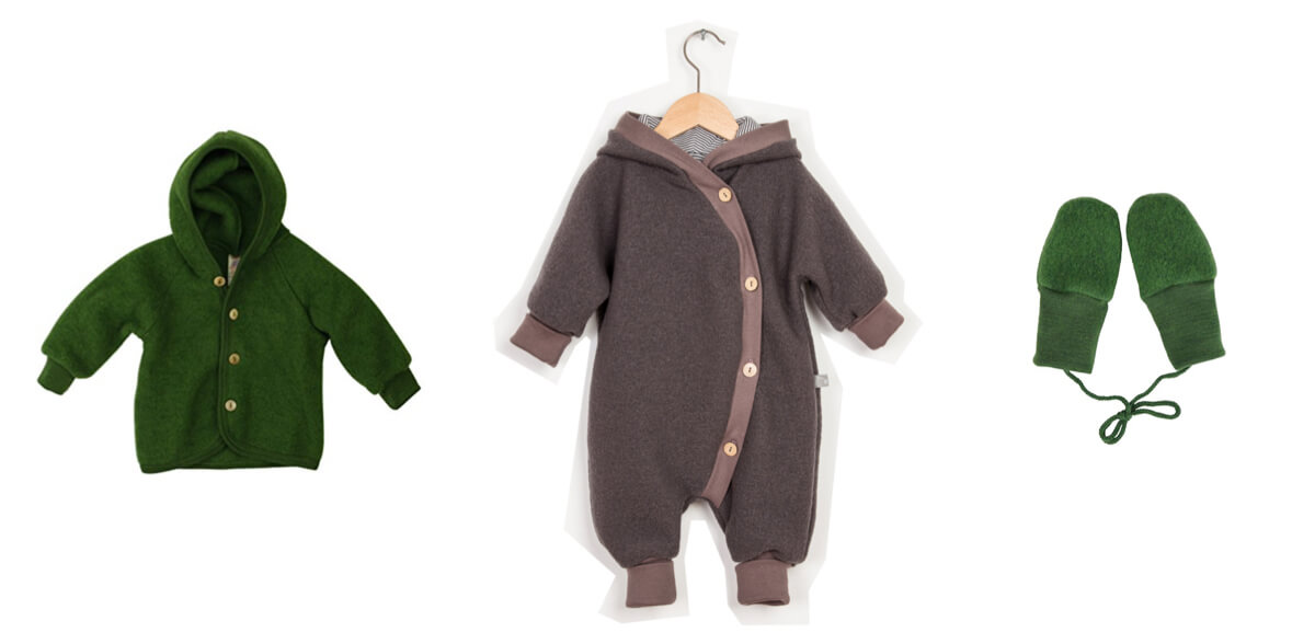 Herbstkleidung Babys Overall, Jacke, Wollwalk