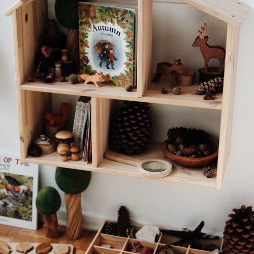 Jahreszeitentisch einfach selbst machen