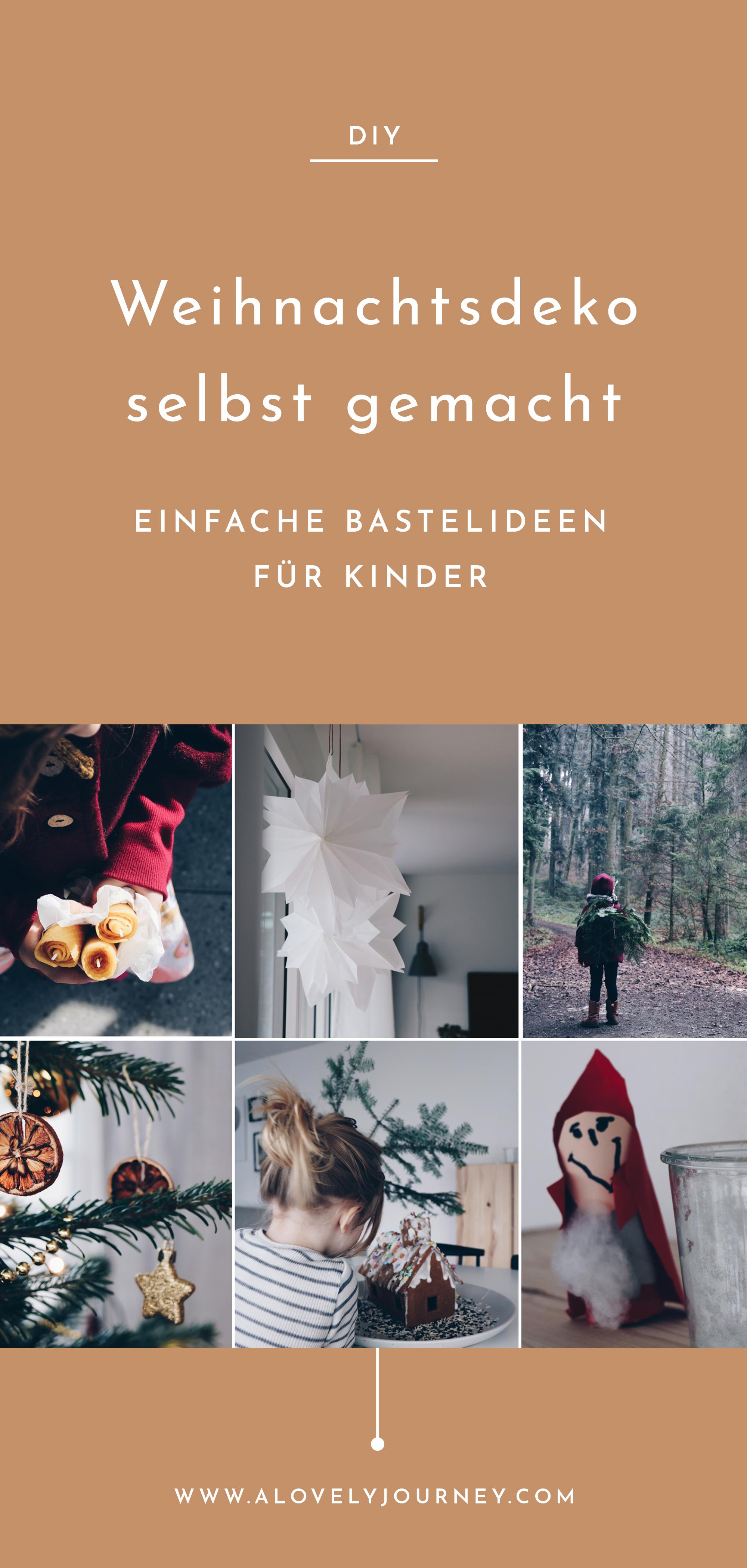 Basteln mit Kindern: Einfache DIY Ideen für Herbst, Winter & Weihnachten
