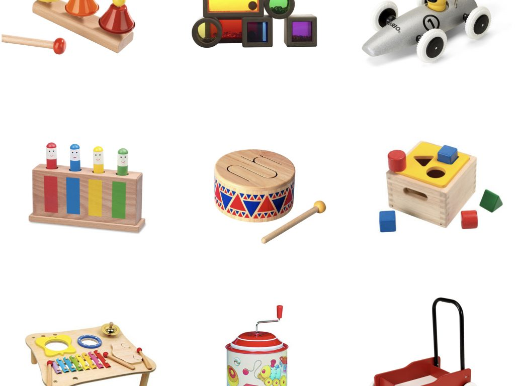 Holzspielzeug Weihnachtsgeschenk ab 1 Jahr