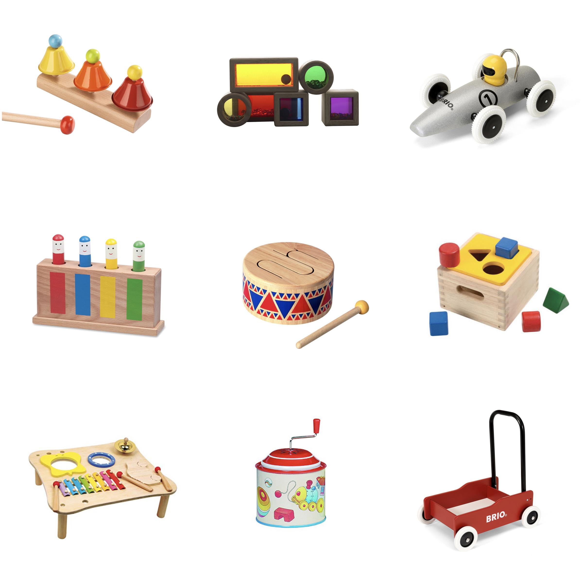 Montessori inspiriert: Hochwertige Geschenkideen für Kinder von 1 - 3