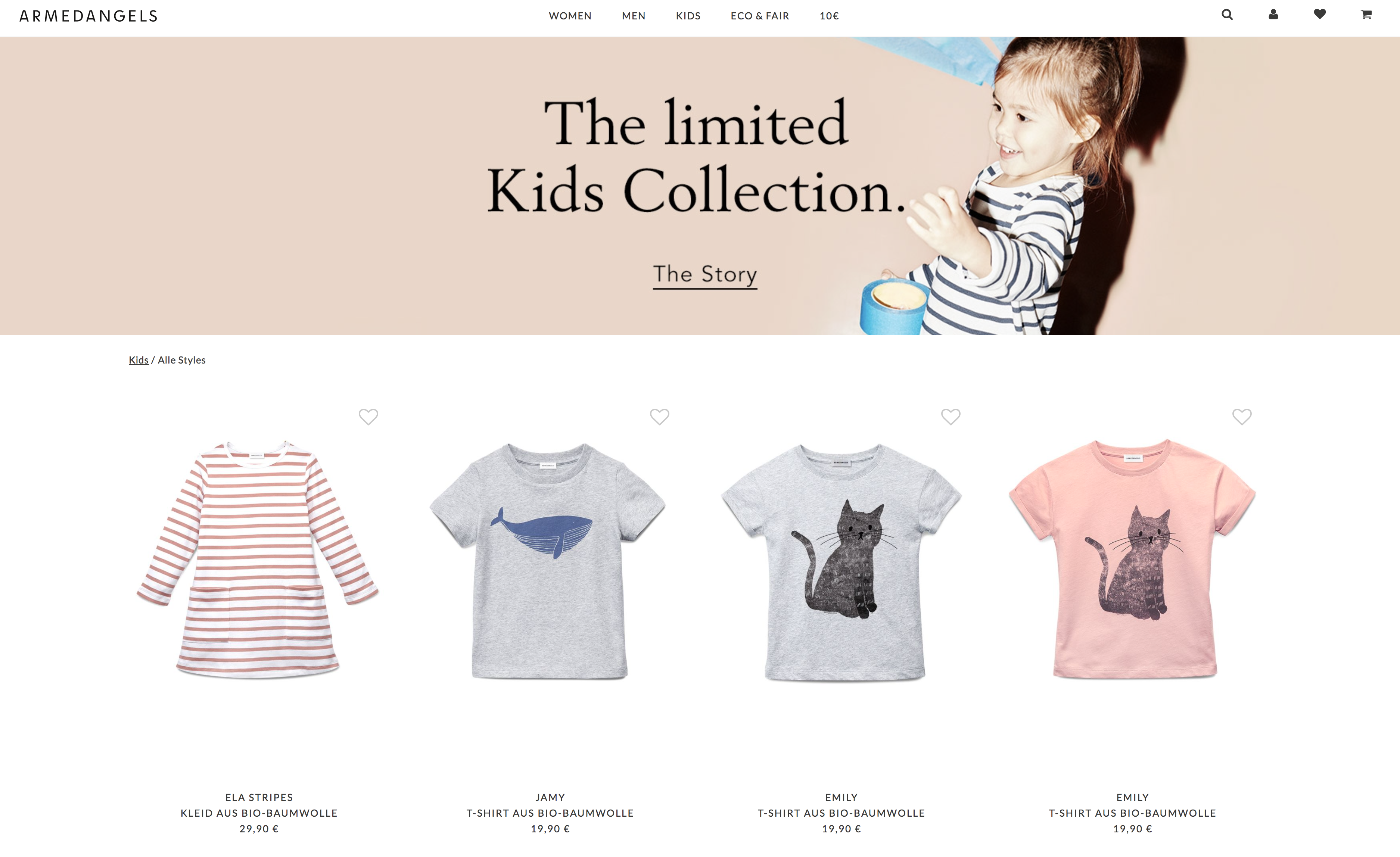 armedangels nachhaltige Kinderkleidung