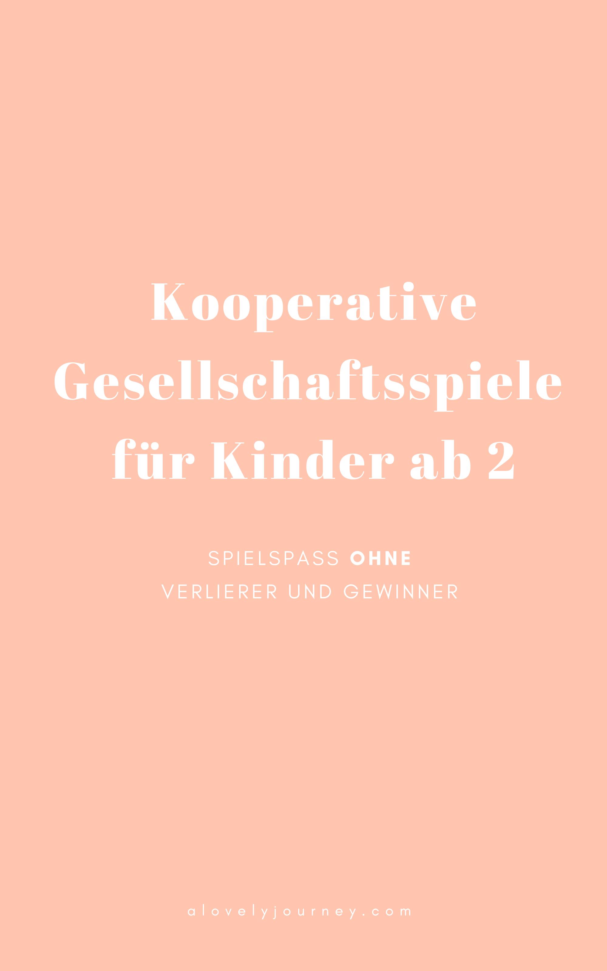 Kooperative Gesellschaftsspiele für Kinder