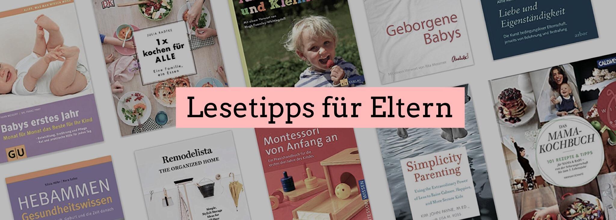 Buchempfehlungen für Eltern
