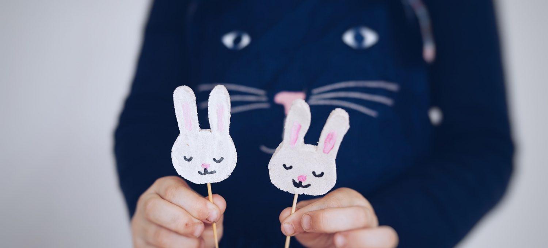 Ostern mit Kindern - basteln ohne Stress