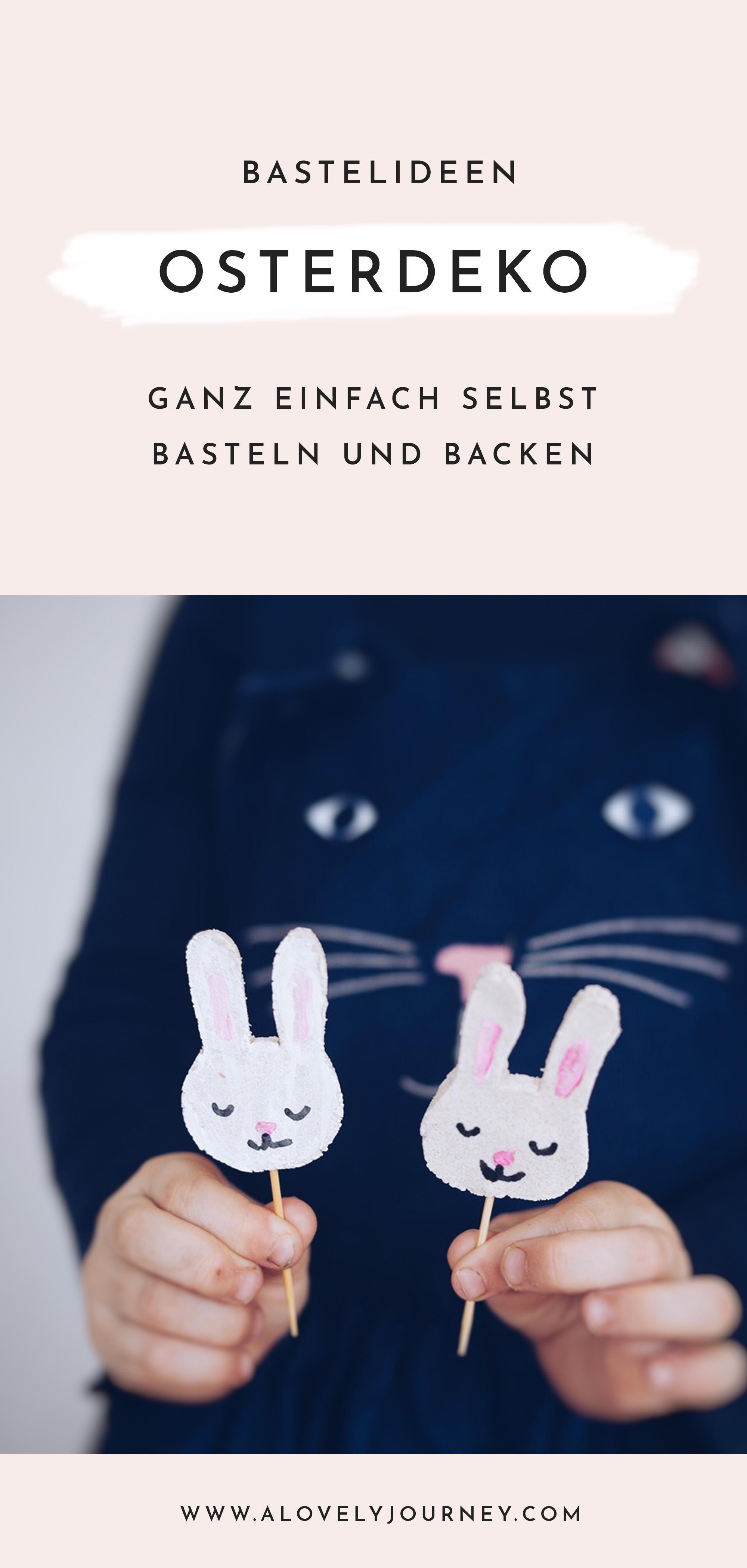 Ostern Einfach Schöne Bastelideen Für Kinder A Lovely Journey