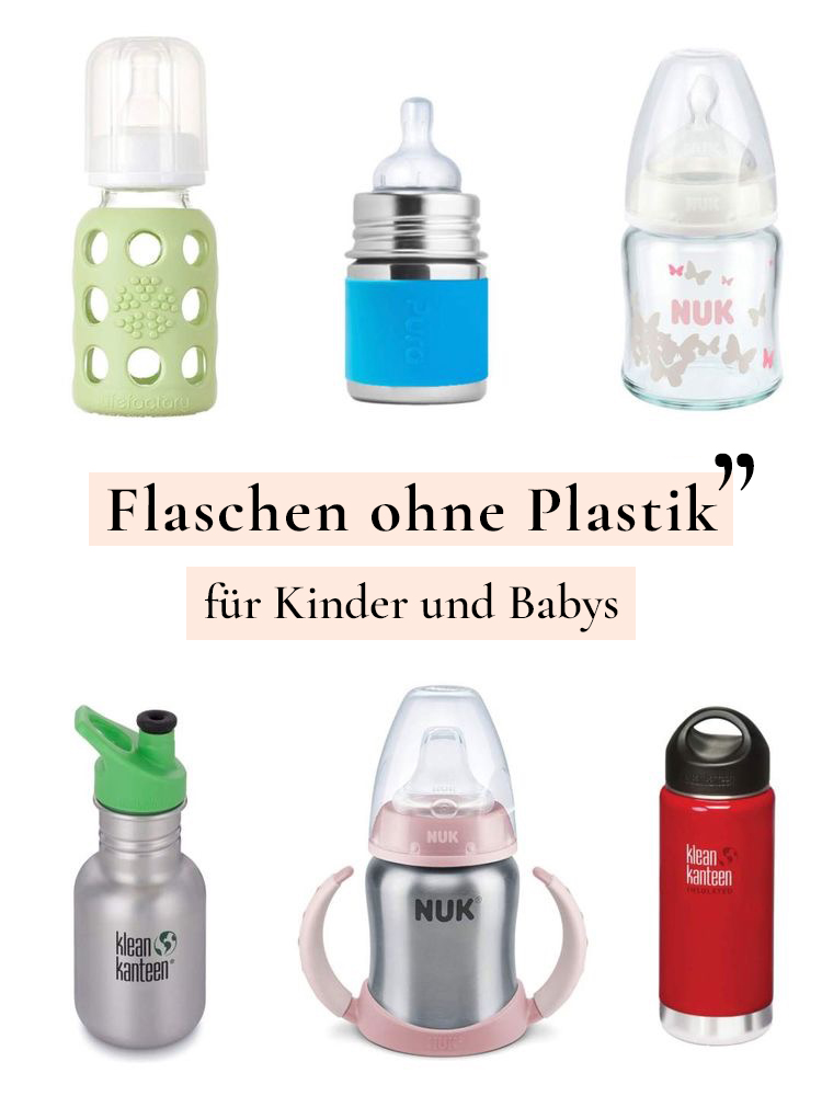 Nachhaltig: Alternative zu Plastik Flaschen für Kinder und Babys