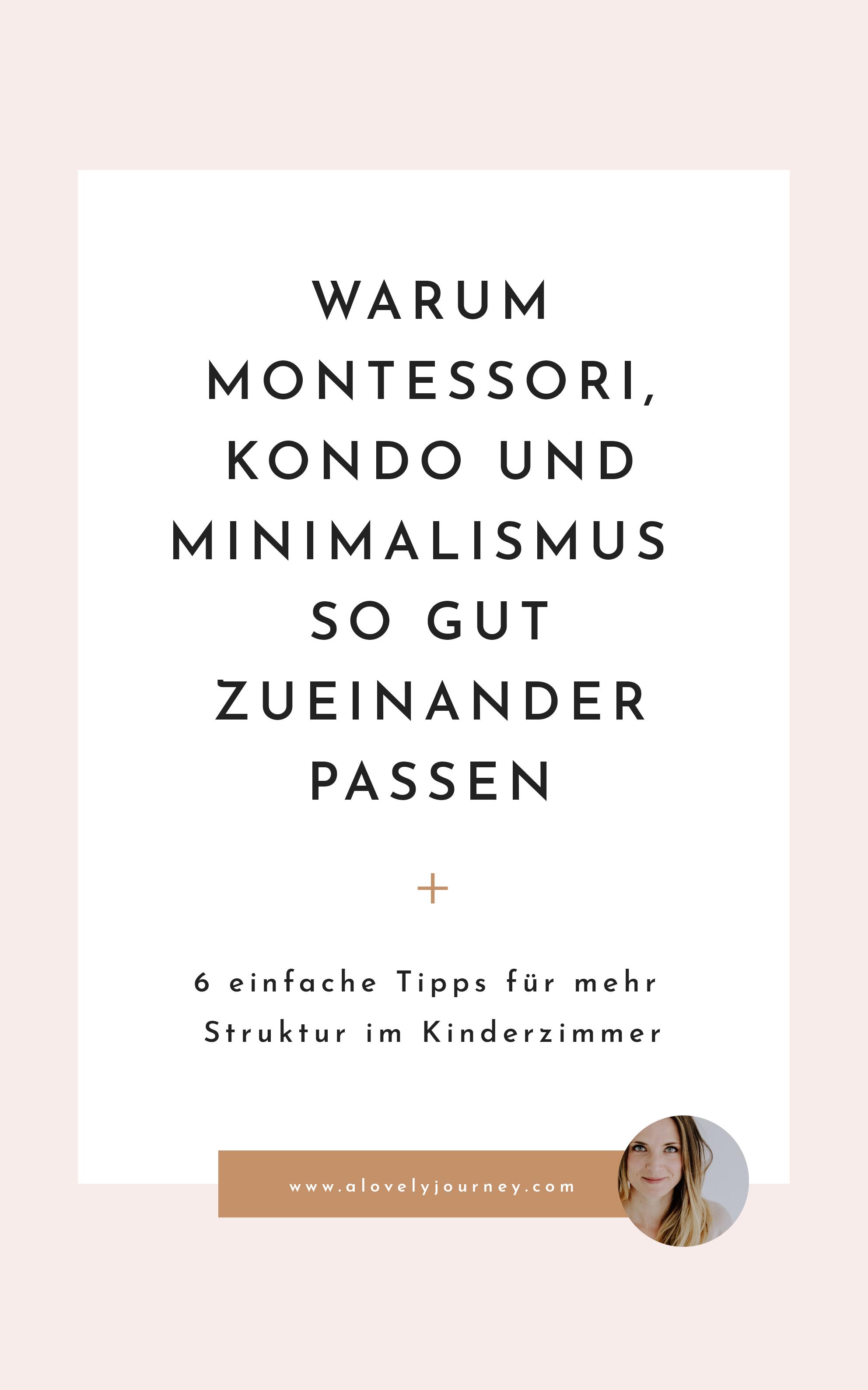 Ordnung: Von Montessori, Marie Kondo und Minimalismus