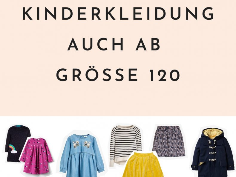 Kleidung für Schulkinder: Hübsche Kinderkleidung auch ab Größe 120