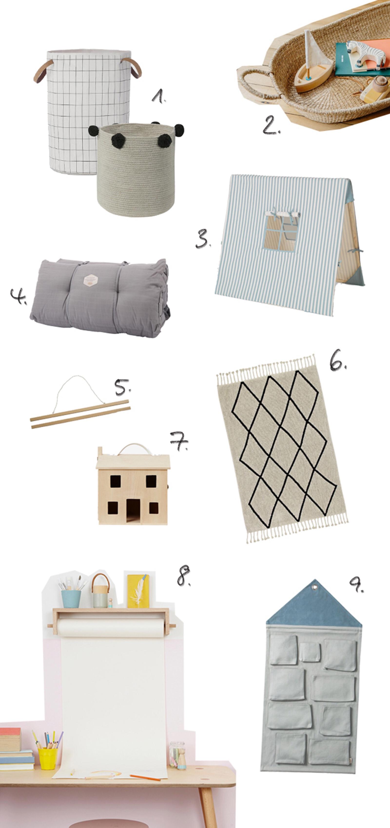Kinderzimmer: 9 hübsche Dinge für mehr Ordnung
