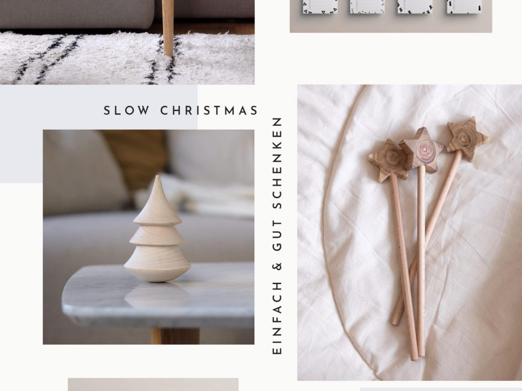 Slow Christmas: Einfach und gut schenken