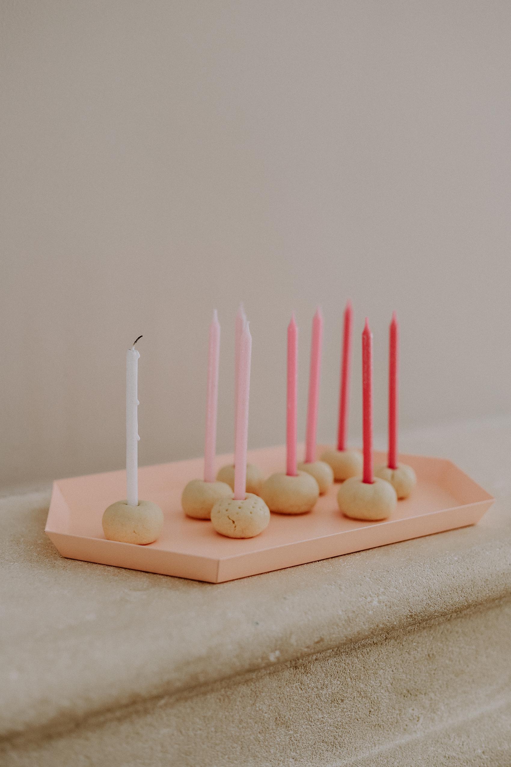 DIY: Minimalistische Kerzenständer in 5 Minuten selbst gemacht