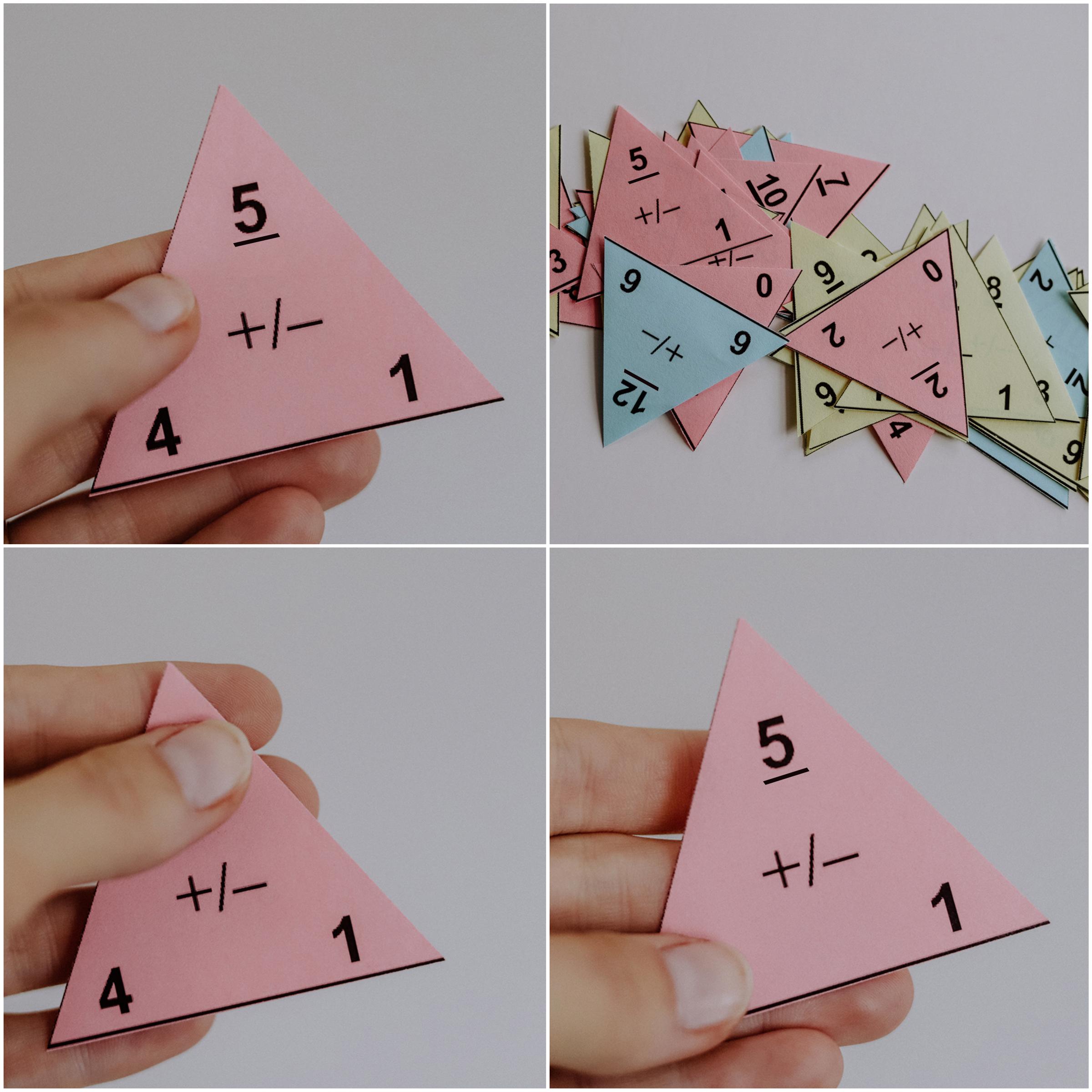 Mathe in der Grundschule: Rechendreiecke kostenlos ausdrucken