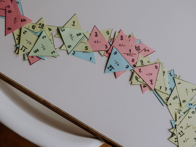 Mathe in der Grundschule: Rechendreiecke zum Üben von Addition und Subtraktion