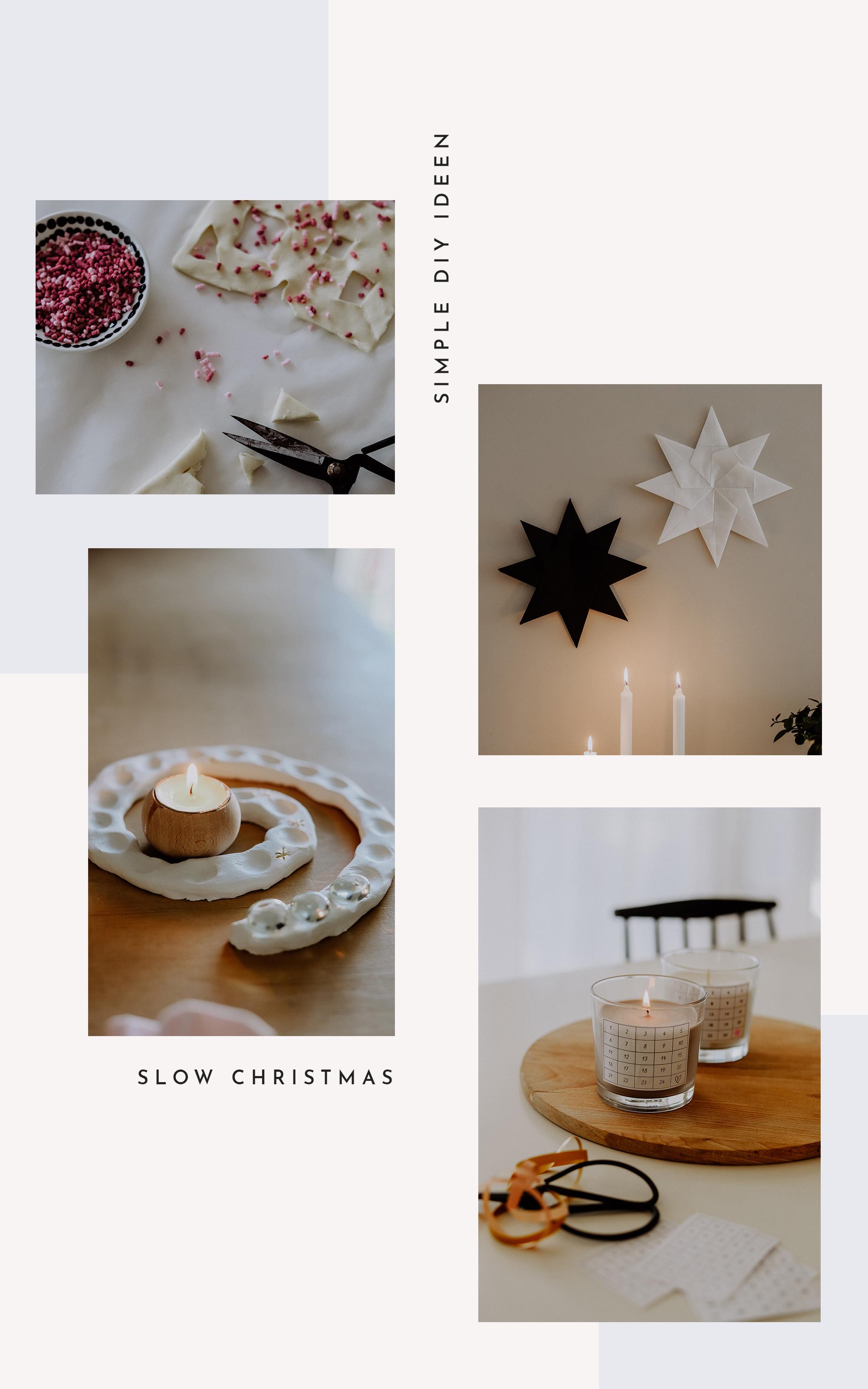 Slow Christmas: Einfache DIY Ideen