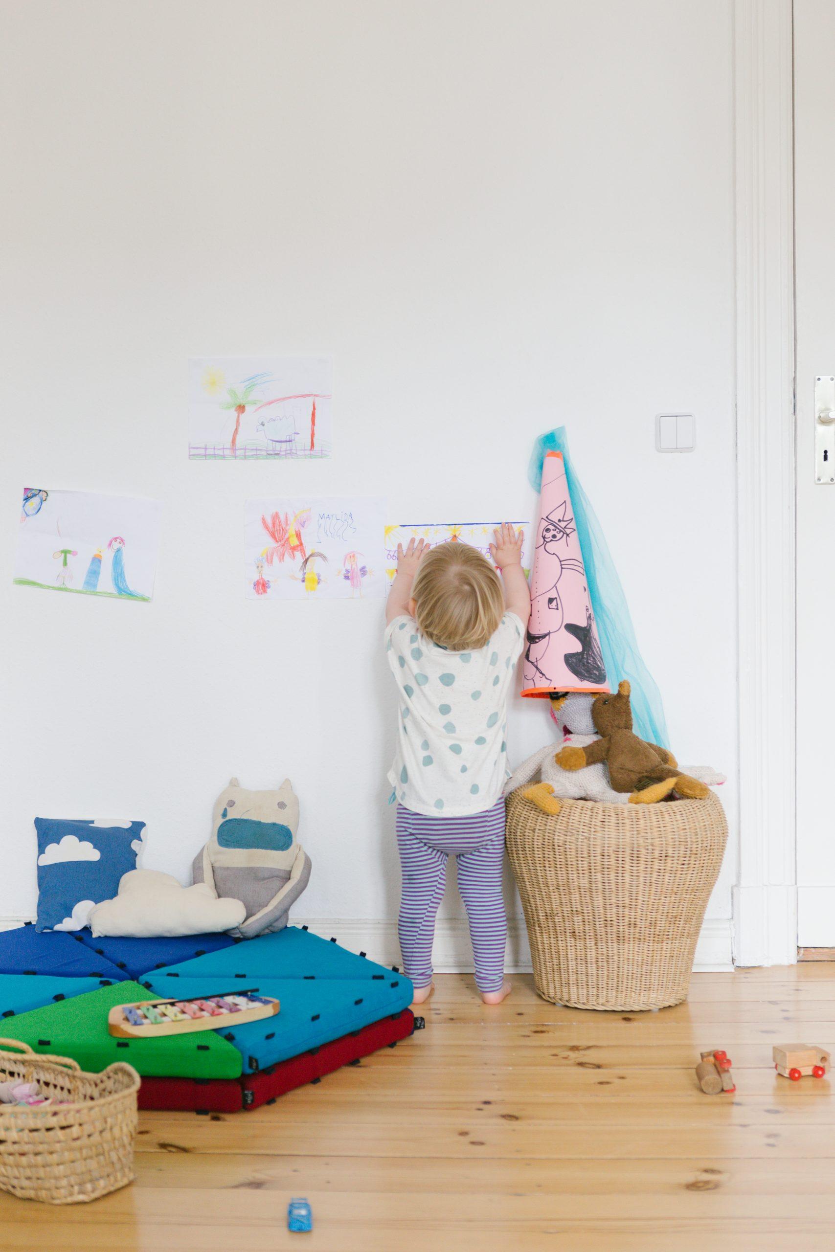 Magnetische Spielmatten von tukluk - unbegrenzte Möglichkeiten im Kinderzimmer.