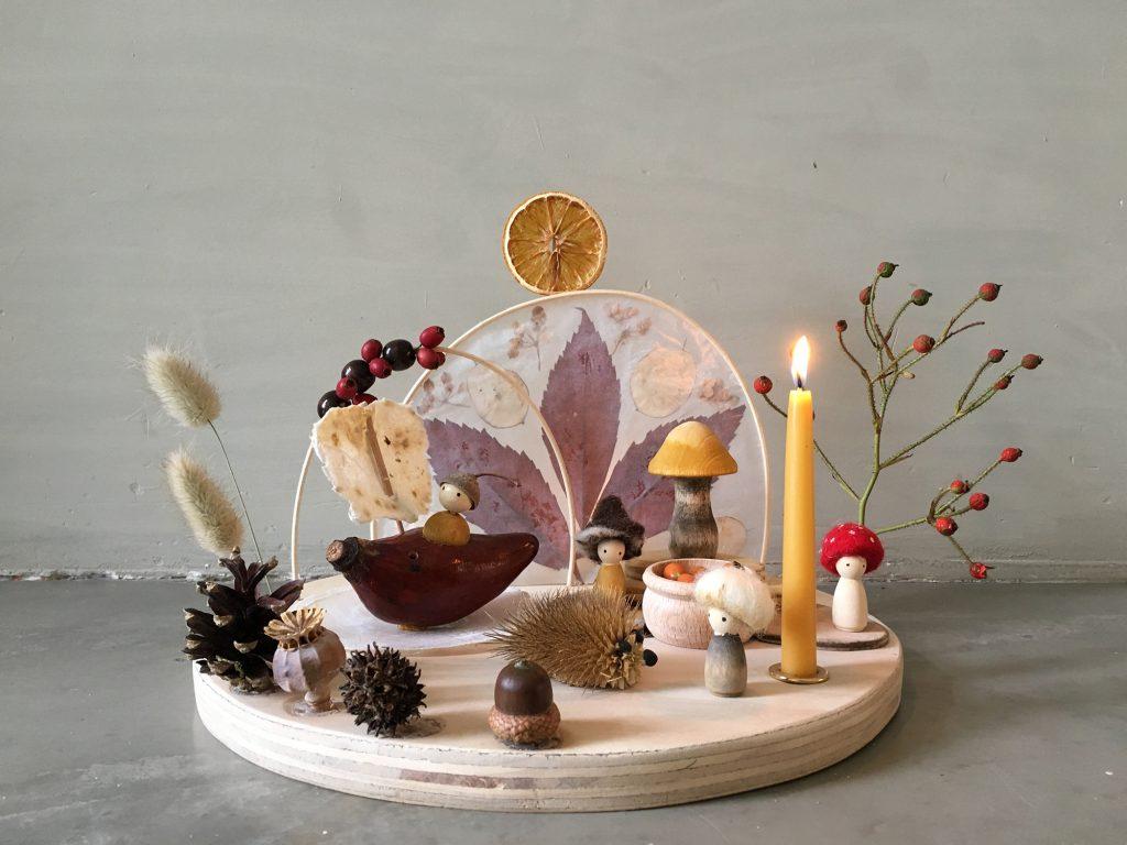 Laine Maison: Liebevoll handgemachte Jahreszeitentisch Set zum Verlieben
