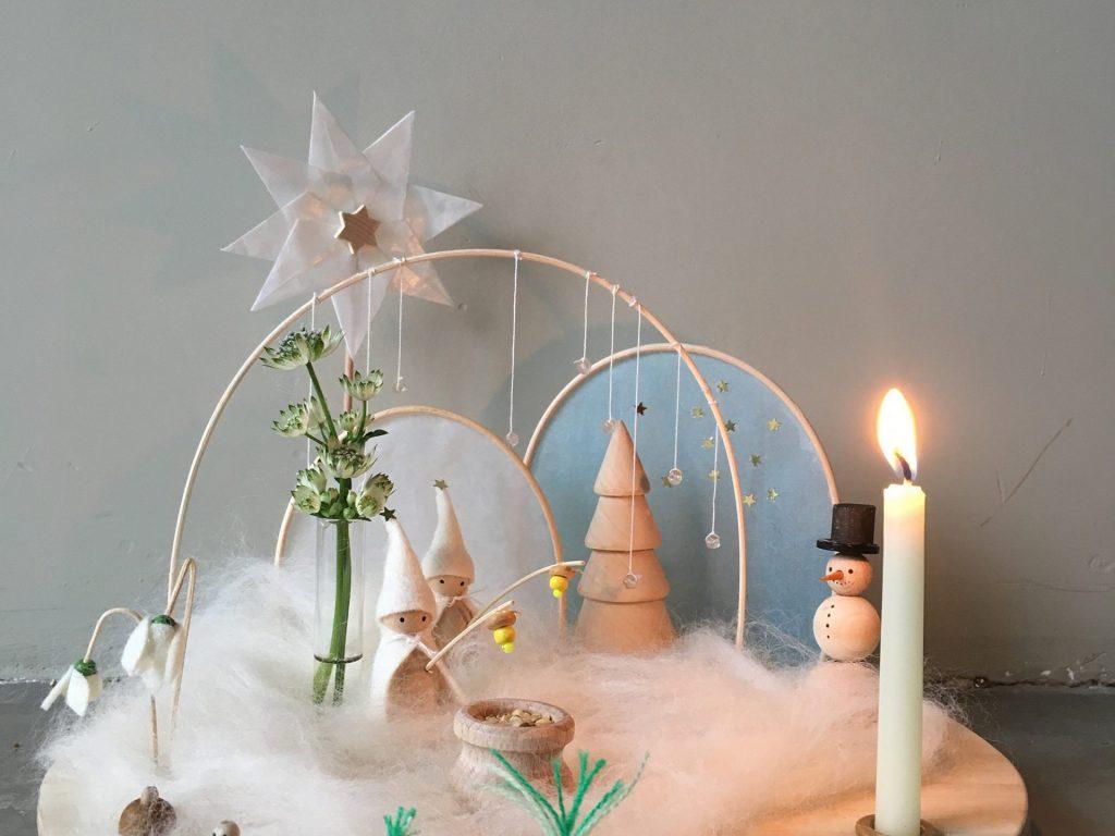 Laine Maison: Liebevoll handgemachte Jahreszeitentisch Sets zum Verlieben