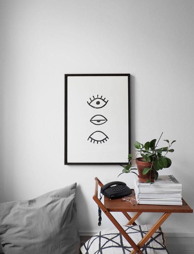 fine little day - Poster Augen