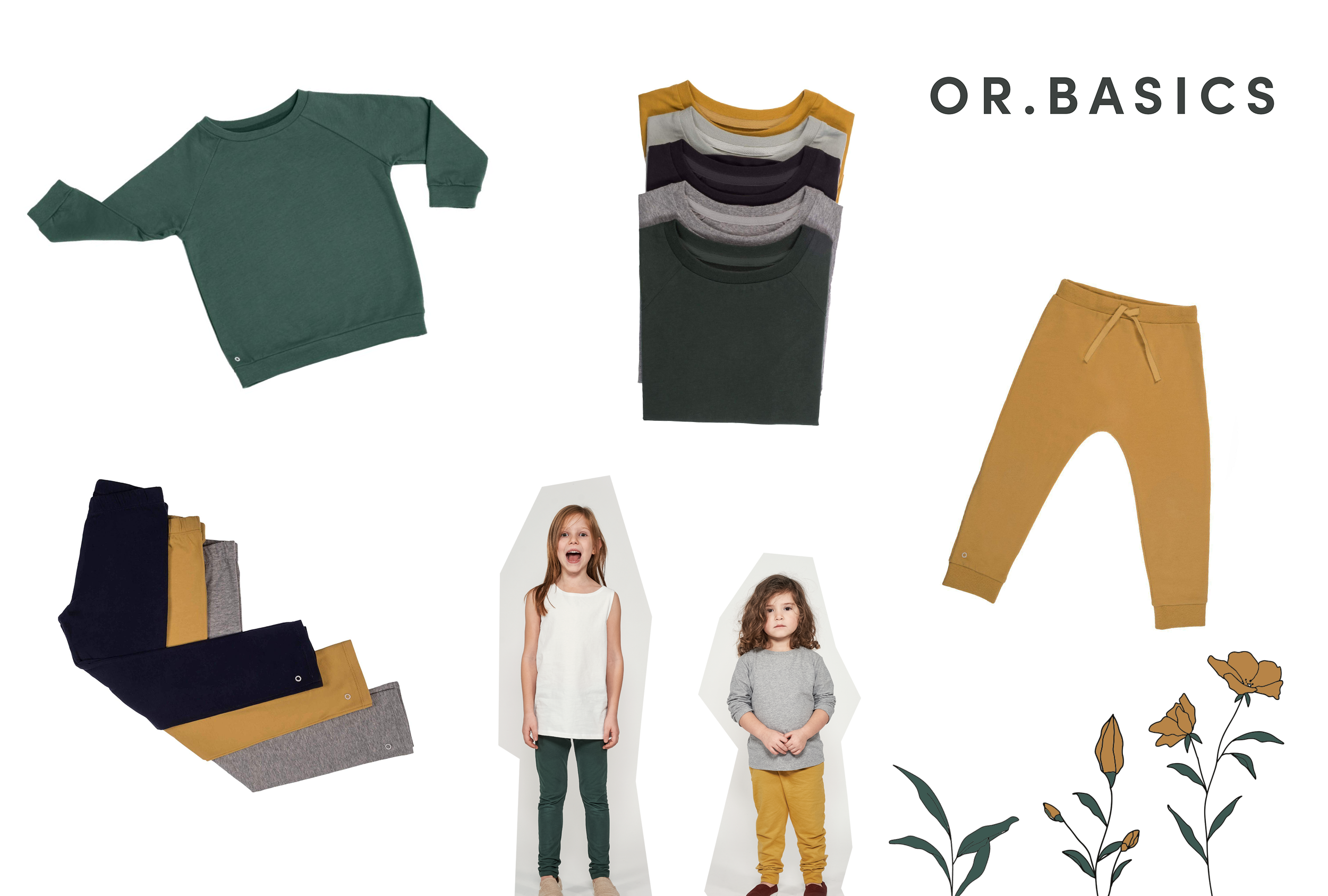 Orbasics: Bio Kinderkleidung - einfach & gut