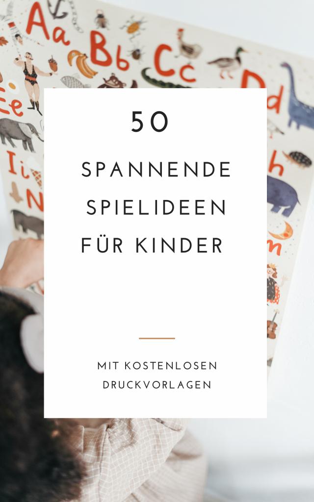 50 Spielideen für Kinder