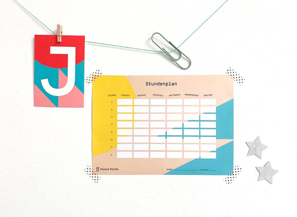 Stundenplan kostenlos ausdrucken: Unsere Favoriten