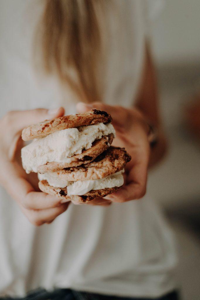 Eis-Sandwich selbst machen