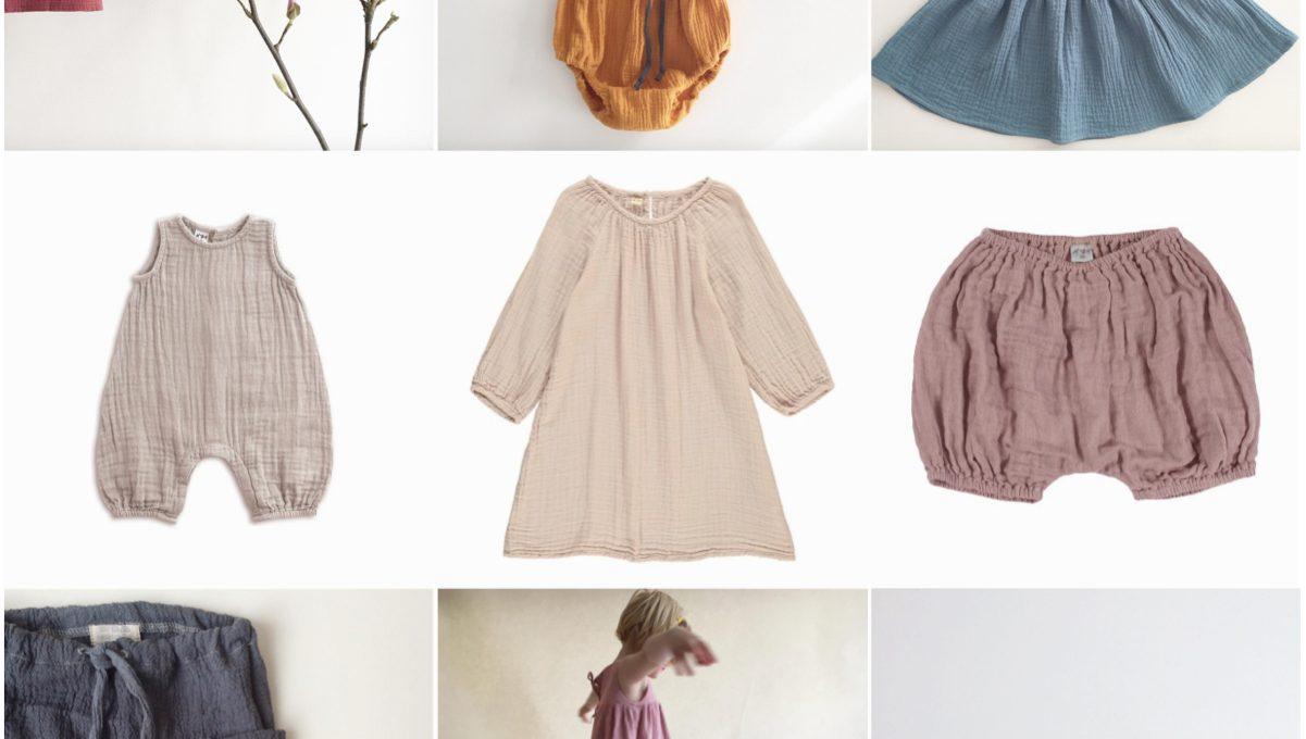 Handgemachte Kinderkleidung